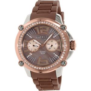 Mulco Women's M10 MW2-28050S-034 Brown Rubber Swiss Multifunction Watch