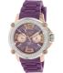 Mulco Women's M10 MW2-28086S-054 Purple Rubber Swiss Multifunction Watch - Main Image Swatch