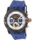Mulco Men's Ilusion MW3-11169-045 Blue Rubber Swiss Multifunction Watch - Main Image Swatch