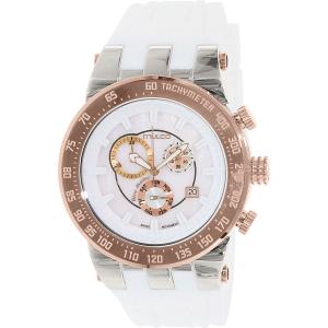 Mulco Men's Bluemarine MW5-93503-013 White Rubber Swiss Chronograph Watch