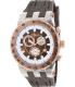 Mulco Men's Bluemarine MW5-93503-033 Brown Rubber Swiss Chronograph Watch - Main Image Swatch