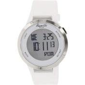 Kenneth Cole Women's KC1666 White Rubber Quartz Watch