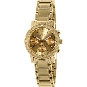 Invicta Women's Wildflower 14873 Gold Stainless-Steel Swiss Multifunction Watch