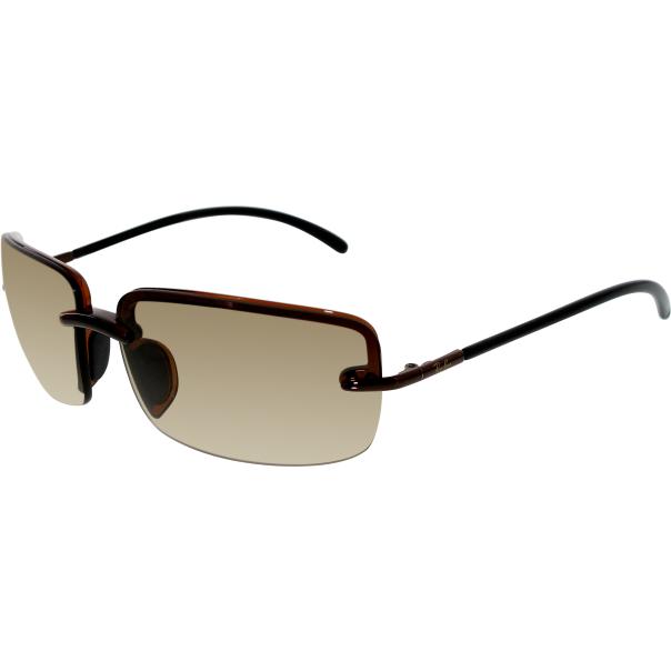 Ray-Ban Mens RB4042-604/13-64 Bronze Rimless Sunglasses