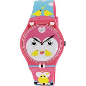 Swatch Women's Originals SUOZ190 Multi Silicone Swiss Quartz Watch