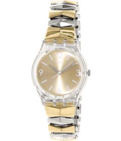 Swatch Women's Originals GE242B Gold Stainless-Steel Swiss Quartz Watch