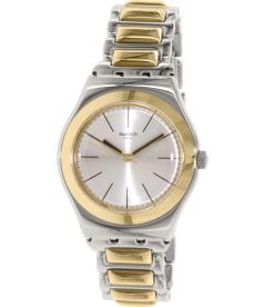 Swatch Women's Irony YLS181G Gold Stainless-Steel Swiss Quartz Watch