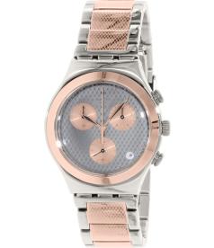Swatch Women's Irony YCS581G Rose Gold Stainless-Steel Swiss Quartz Watch