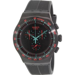 Swatch Men's Irony YOB105 Black Rubber Swiss Quartz Watch
