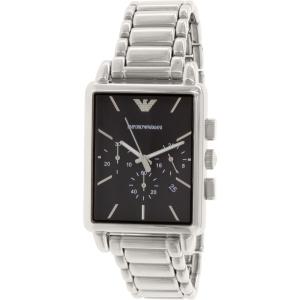 Emporio Armani Men's Classic AR1850 Silver Stainless-Steel Quartz Watch
