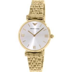 Emporio Armani Women's Gianni AR1877 Gold Stainless-Steel Quartz Watch