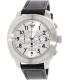 Emporio Armani Men's Delta AR6054 Black Leather Quartz Watch - Main Image Swatch