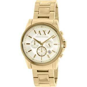 Armani Exchange Men's AX2099 Gold Stainless-Steel Quartz Watch