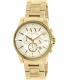 Armani Exchange Men's AX2099 Gold Stainless-Steel Quartz Watch - Main Image Swatch