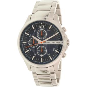 Armani Exchange Men's AX2155 Silver Stainless-Steel Quartz Watch