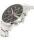 Armani Exchange Men's AX2155 Silver Stainless-Steel Quartz Watch - Side Image Swatch