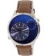 Armani Exchange Men's AX2162 Brown Leather Quartz Watch - Main Image Swatch