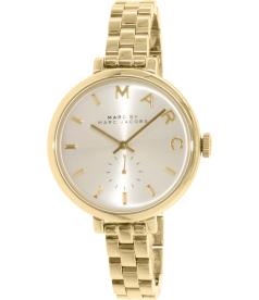 Marc By Marc Jacobs Women's Slim Baker MBM3363 Gold Stainless-Steel Swiss Quartz Watch