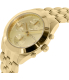Marc by Marc Jacobs Women's Peeker MBM3393 Gold Stainless-Steel Quartz Watch - Side Image Swatch