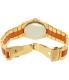 Michael Kors Women's Channing MK6153 Gold Metal Quartz Watch - Back Image Swatch