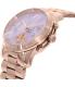 Michael Kors Women's Runway MK6163 Rose Gold Stainless-Steel Quartz Watch - Side Image Swatch