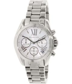Michael Kors Women's Bradshaw MK6174 Silver Stainless-Steel Quartz Watch