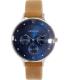 Skagen Women's Anita SKW2310 Brown Leather Leather Quartz Watch - Main Image Swatch