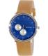 Skagen Men's Hald SKW6167 Brown Leather Quartz Watch - Main Image Swatch