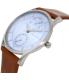 Skagen Women's Holst SKW6178 Brown Leather Quartz Watch - Side Image Swatch