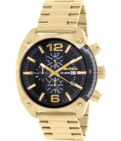 Diesel Men's Overflow DZ4342 Gold Stainless-Steel Quartz Watch