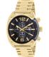 Diesel Men's Overflow DZ4342 Gold Stainless-Steel Quartz Watch - Main Image Swatch