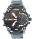 Diesel Men's Mr. Daddy DZ7312 Black Stainless-Steel Quartz Watch - Main Image Swatch