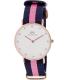 Daniel Wellington Women's Winchester 0952DW Blue Cloth Quartz Watch - Main Image Swatch