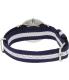 Daniel Wellington Women's Glasgow 0963DW Blue Nylon Quartz Watch - Back Image Swatch