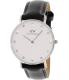 Daniel Wellington Women's Classy Sheffield 0961DW Black Leather Quartz Watch - Main Image Swatch