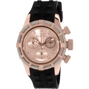 Invicta Women's Bolt 16106 Black Rubber Swiss Quartz Watch
