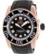 Invicta Men's Pro Diver 14666 Black Rubber Swiss Quartz Watch - Main Image Swatch