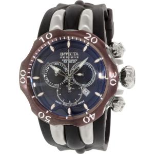 Invicta Men's Venom 13918 Black Silicone Swiss Chronograph Watch
