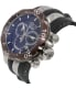 Invicta Men's Venom 13918 Black Silicone Swiss Chronograph Watch - Side Image Swatch