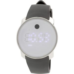 Movado Men's Bold 3600253 Grey Silicone Quartz Watch