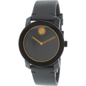 Movado Men's Bold 3600297 Black Resin Swiss Quartz Watch
