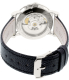 Movado Men's Museum 0606114 Black Leather Automatic Watch - Back Image Swatch