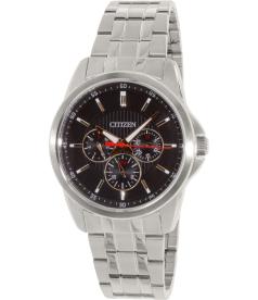 Citizen Men's AG8340-58E Silver Stainless-Steel Quartz Watch