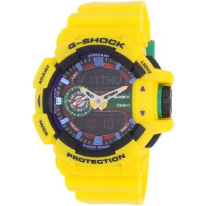 Casio Men's G-Shock GA400-9A Yellow Resin Quartz Watch
