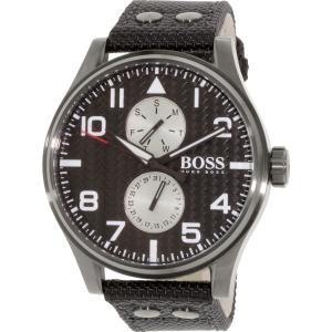 Hugo Boss Men's 1513086 Black Nylon Quartz Watch