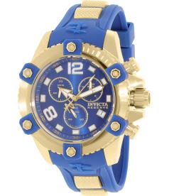 Invicta Men's Arsenal 11173 Blue Rubber Swiss Quartz Watch