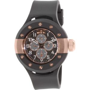 Invicta Men's Rally 17387 Black Rubber Swiss Quartz Watch