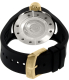 Invicta Men's Rally 17387 Black Rubber Swiss Quartz Watch - Back Image Swatch