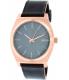 Nixon Men's Time Teller A0452001 Rose Gold Leather Quartz Watch - Main Image Swatch