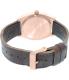 Nixon Men's Time Teller A0452001 Rose Gold Leather Quartz Watch - Back Image Swatch
